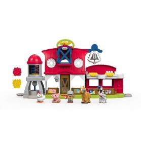 FISHER PRICE - LITTLE PEOPLE - GRANJA CUIDA A LOS ANIMALITOS