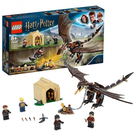 DESAFÍO DE LOS TRES MAGOS: COLACUERNO HÚNGARO LEGO HARRY POTTER 75946