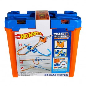 HOT WHEELS - TRACK BUILDER CAJA DE ACROBACIAS DELUXE