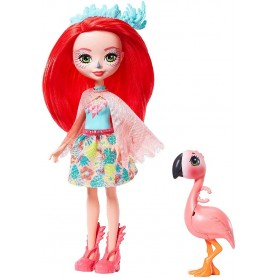ENCHANTIMALS - FANCI FLAMINGO CON SWASH