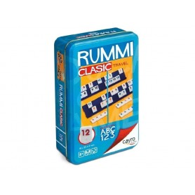 RUMMI CLASIC TRAVEL CAJA METALICA