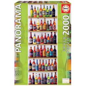 PUZZLE 2000 PZ CERVEZAS DEL MUNDO PANORAMICA