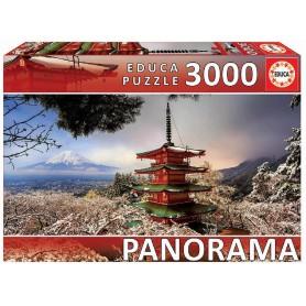 PUZZLE 3000 PZ  MONTE FUJI JAPON PANORAMICA