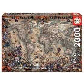 PUZZLE 2000 MAPA DE PIRATAS FSC(R)
