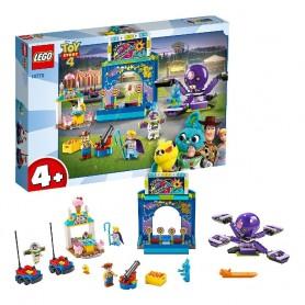 BUZZ Y WOODY: LOCOS POR LA FERIA TOY STORY 4 LEGO 10770