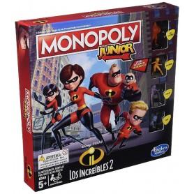 MONOPOLY- JUNIOR INCREIBLES