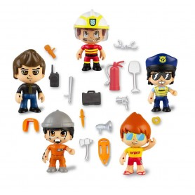 PINYPON ACTION- SET DE 5 FIGURAS SERIE 2