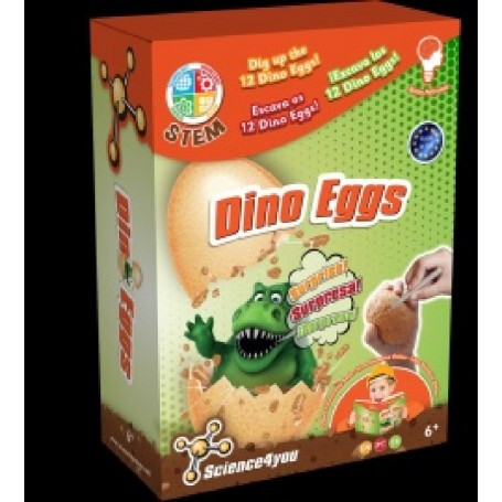 DINO EGGS SURPRISE SCIENCE4YOU