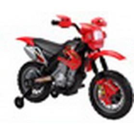 MOTO MOTOCROS 6V 4AH ROJA