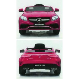 MERCEDES BENZ AMG GLE COUPE 63 - 12V 7AH ROJO