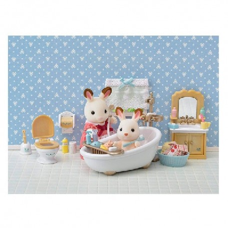 FAMILIA SYLVANIA - SET BAÑO COUNTRY