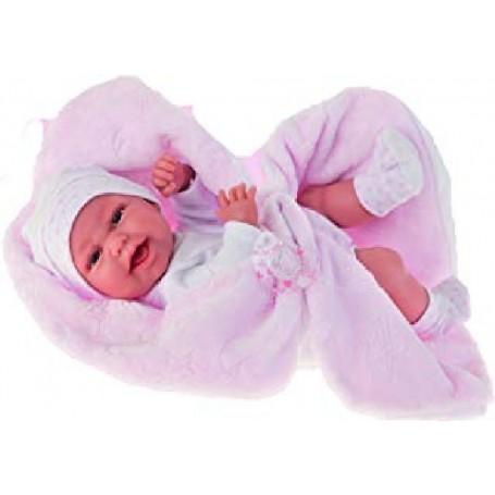 MUÑECA BABY CLARA MANTITA 33 CMS