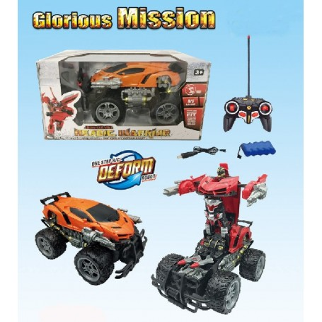VEHICULO - ROBOT TRANSFORMABLE R/C