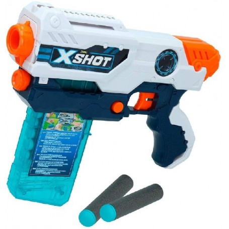 X-SHOT EXCEL - PISTOLA HURRICANE + 8 A
