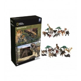 NATIONAL GEOGRAPHIC ANIMALES Y DINOSAURIOS 40 PZS