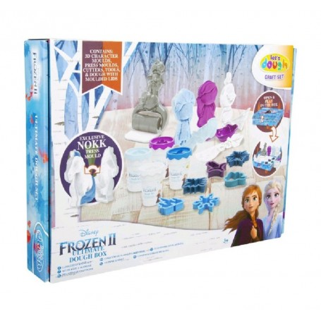 FROZEN II - SET DE PLASTILINA ULTIMATE BOX