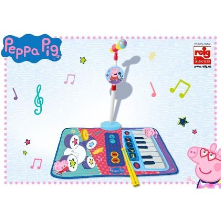PEPPA PIG - ALFOMBRA BATERIA Y PIANO CON MICRO