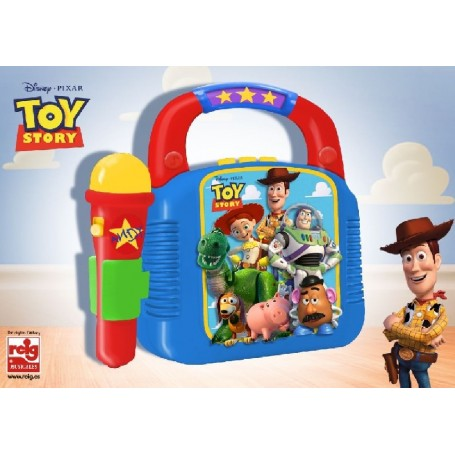 TOY STORY - REPRODUCTOR MP3 CON MIC. Y BLUETOOTH
