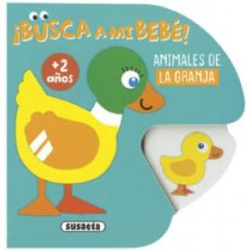LIBRO ANIMALES DE LA GRANJA (BUSCA A MI BEBÉ)