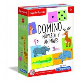 JUGANDO APRENDO - DOMINO DE LOS ANIMALES +4 AÑOS