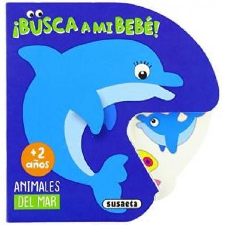 LIBRO ANIMALES DEL MAR (BUSCA A MI BEBÉ)