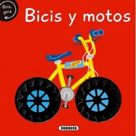 LIBRO BICIS Y MOTOS (GIRA LA RUEDA)