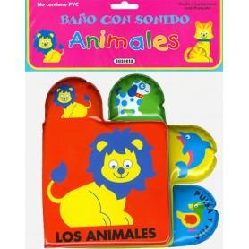 LIBRO ANIMALES (BAÑO CON SONIDO)