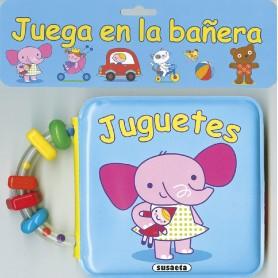 LIBRO JUGUETES (JUEGA EN LA BAÑERA)