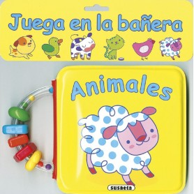 LIBRO ANIMALES (JUEGA EN LA BAÑERA)
