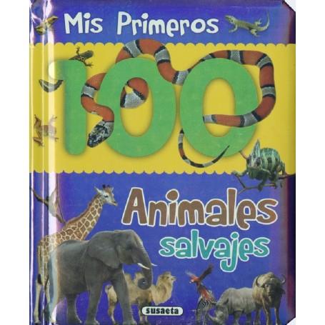 LIBRO ANIMALES SALVAJES