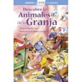 LIBRO DESCUBRE ANIMALES DE LA GRANJA