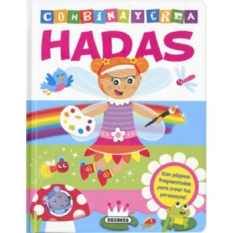 LIBRO COMBINA Y CREA HADAS