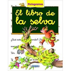 LIBRO EL LIBRO DE LA SELVA   (PICTOGRAMA)