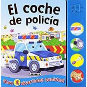 LIBRO BOTONES RUIDOSOS EL COCHE DE POLICIA