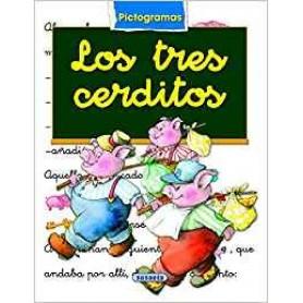 LIBRO LOS TRES CERDITOS  (PICTOGRAMAS)