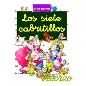 LIBRO LOS SIETE CABRITILLOS  (PICTOGRAMAS)