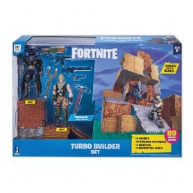 TURBO BUILDER PACK 2 FIGURAS FORTNITE