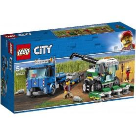 TRANSPORTE DE LA COSECHADORA LEGO CITY 60223