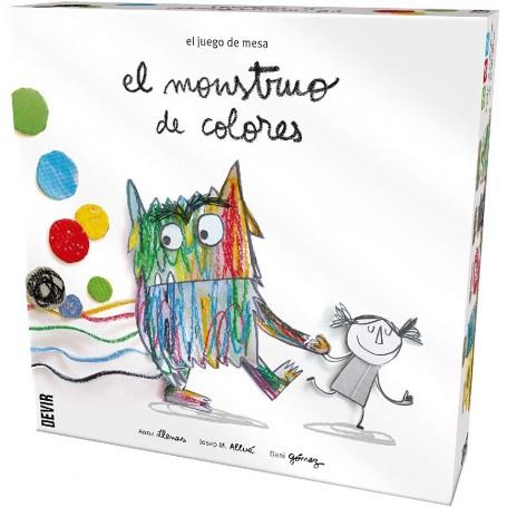 JUEGO MONSTRUOS DE COLORES
