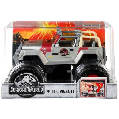 JURASSIC WORLD: JEEP WRANGLER 93 MATCHBOX 1:24
