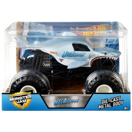 COCHE MONSTER JAM MEGALODON HOT WHEELS
