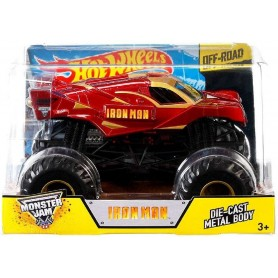 COCHE MONSTER JAM IRON MAN