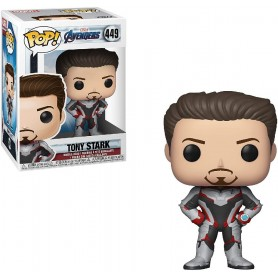 FIGURA FUNKO POP! - IRON MAN- TONY STARK, MARVEL