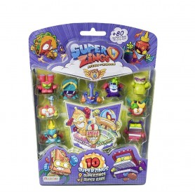 SUPERZINGS 5 - BLISTER 10 FIGURAS