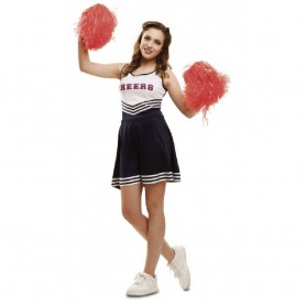 DISFRAZ ANIMADORA CHEERLEADER ML