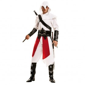 DISFRAZ ASSASSIN'S CREED EL ASESINO BLANCO ML
