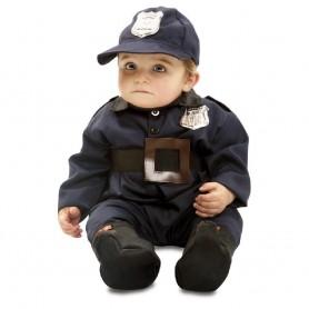 DISFRAZ POLICIA BEBE BABY POLICEMAN 7-12 MESES