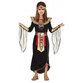 DISFRAZ FARAONA EGIPCIA CLEOPATRA 7-9 AÑOS