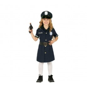 DISFRAZ POLICIA NIÑA 10-12 AÑOS