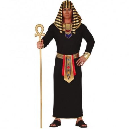 DISFRAZ DE FARAON NEGRO EGIPCIO T.M